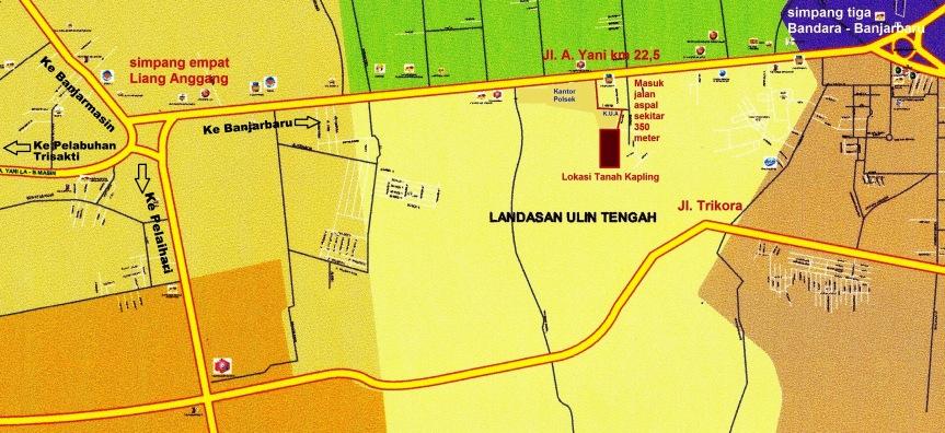 Peta Denah Lokasi Lahan warna 350